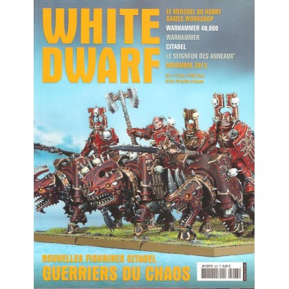 White Dwarf N° 223 (magazine de jeux de figurines Games Workshop en VF) 001