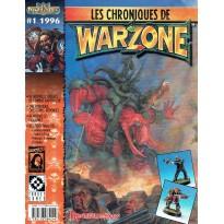 Les Chroniques de Warzone N° 1 (revue jeu de figurines en VF) 001