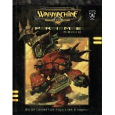 Warmachine Prime Remix - Jeu de combat de figurines à vapeur (livre de règles en VF)