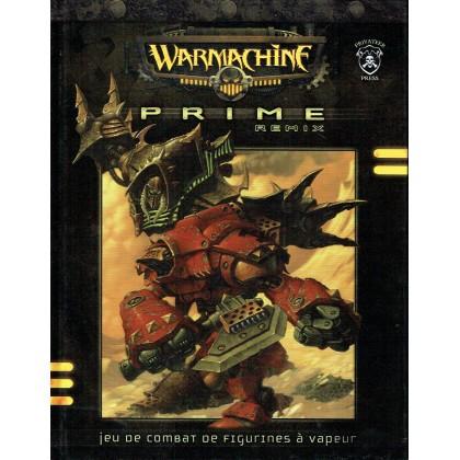 Warmachine Prime Remix - Jeu de combat de figurines à vapeur (livre de règles en VF) 001