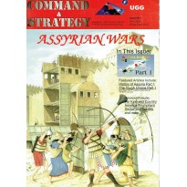 Command & Strategy N° 1 avec wargame (Magazine for Military History and Historical Boardgames en VO) 001