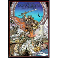 Jim Fitzpatrick - The Book of Conquests (livre artbook celtique en VO) 001