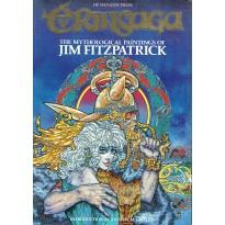 Jim Fitzpatrick - ErinSaga (livre artbook celtique en VO) 001