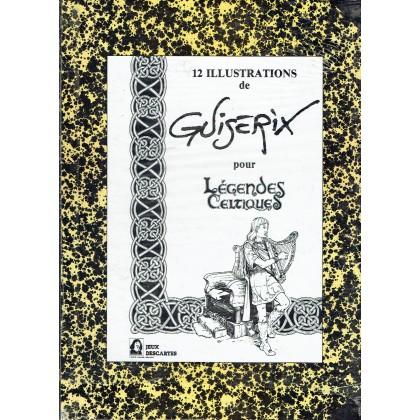 Didier Guiserix - 12 illustrations pour Légendes Celtiques (portfolio artbook de Jeux Descartes) 001