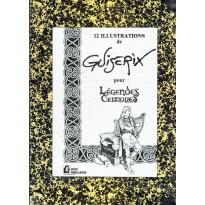 Didier Guiserix - 12 illustrations pour Légendes Celtiques (portfolio artbook de Jeux Descartes)