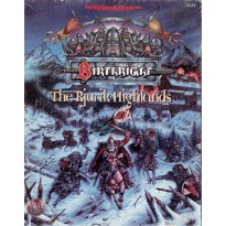 Birthright - The Rjurik Highlands (jdr AD&D 2ème édition révisée) 001