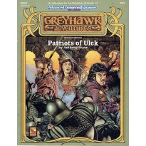 WGQ1 Patriots of Ulek (AD&D 2ème édition - World of Greyhawk)