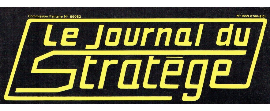 Le Journal du Stratège